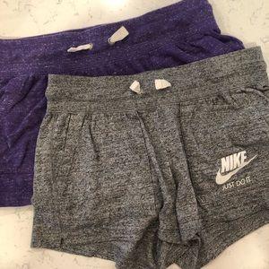 Nike Just Do It Drawstring Cotton Shorts